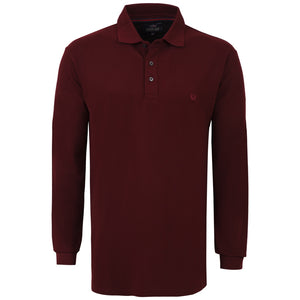 "Ανδρική Μπλούζα Polo ""Confidential"" Freeland-BURGUNDY-M-kmaroussis.gr"