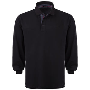 "Ανδρική Μπλούζα Polo ""Optimatoro"" North Star-BLACK-4XL-kmaroussis.gr"