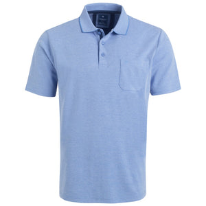 "Ανδρική Μπλούζα Polo ""RailRoads"" Redmond-LIGHTBLUE-M-kmaroussis.gr"
