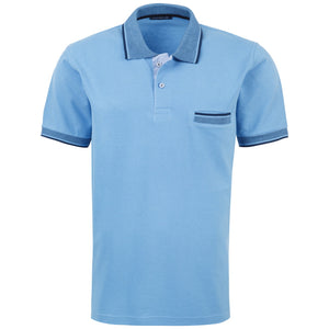 "Ανδρική Μπλούζα Polo ""Tinlex Story"" Unique-LIGHTBLUE-M-kmaroussis.gr"