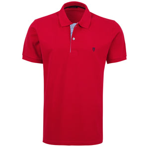 "Ανδρική Μπλούζα Polo ""VentoPlus"" Unique-RED-M-kmaroussis.gr"