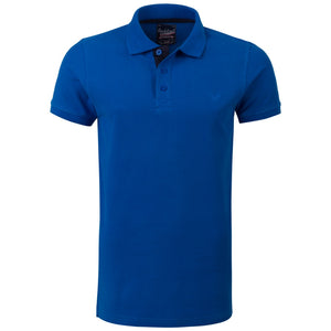"Ανδρική Μπλούζα Polo ""Wilfredo"" Rock & Roll-ROYALBLUE-M-kmaroussis.gr"