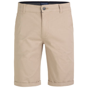 "Ανδρική Βερμούδα Chinos ""Sun Riders"" Unique-BEIGE-32-kmaroussis.gr"