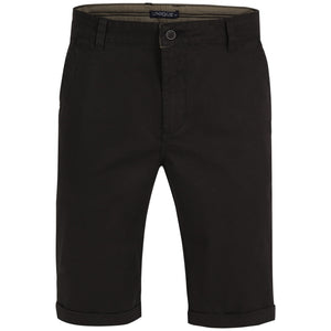 "Ανδρική Βερμούδα Chinos ""Sun Riders"" Unique-BLACK-32-kmaroussis.gr"
