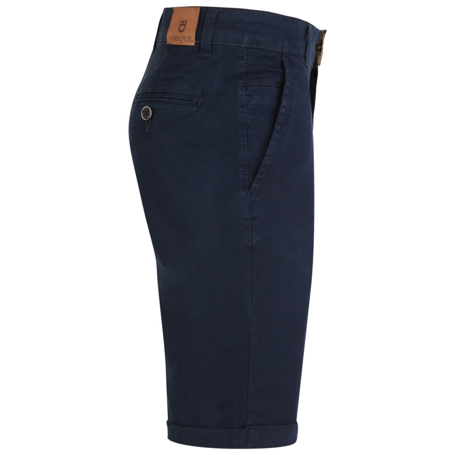 "Ανδρική Βερμούδα Chinos ""Sun Riders"" Unique-DARKBLUE-32-kmaroussis.gr"