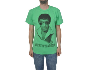 "Ανδρική Μπλούζα T-Shirt ""Bad Citizen"" BMF-GREEN-XL-kmaroussis.gr"