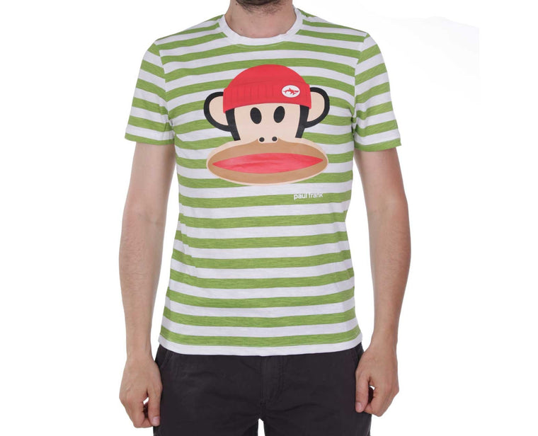 "Ανδρική Μπλούζα T-Shirt ""Topper"" Paul Frank-GREEN-M-kmaroussis.gr"