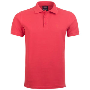 "Ανδρική Μπλούζα Polo ""Sunny Days"" Battery-CORAL-M-kmaroussis.gr"