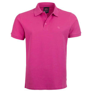 "Ανδρική Μπλούζα Polo ""Sunny Days"" Battery-FUCHSIA-M-kmaroussis.gr"