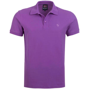 "Ανδρική Μπλούζα Polo ""Sunny Days"" Battery-LILAC-M-kmaroussis.gr"