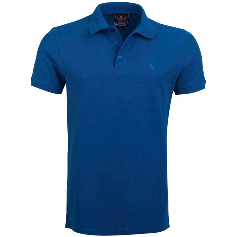 "Ανδρική Μπλούζα Polo ""Sunny Days"" Battery-ROYALBLUE-M-kmaroussis.gr"