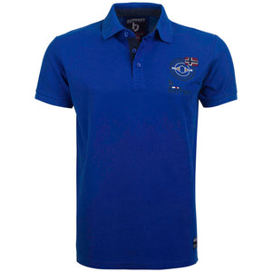"Ανδρική Μπλούζα Polo ""Summer Choice"" Battery-ROYALBLUE-M-kmaroussis.gr"