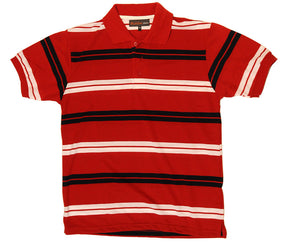 "Ανδρική Μπλούζα Polo ""Be Bold"" Blackstone-RED-L-kmaroussis.gr"