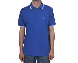 "Ανδρική Μπλούζα Polo ""Jake"" Fruit Of The Loom-BLUE-M-kmaroussis.gr"