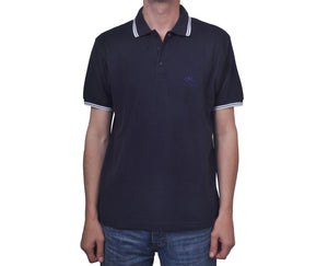 "Ανδρική Μπλούζα Polo ""Jake"" Fruit Of The Loom-DARKBLUE-M-kmaroussis.gr"