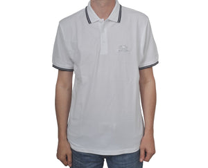 "Ανδρική Μπλούζα Polo ""Jake"" Fruit Of The Loom-WHITE-M-kmaroussis.gr"