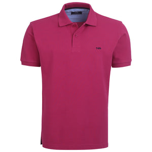 "Ανδρική Μπλούζα Polo ""Get Ready"" North Star-FUCHSIA-S-kmaroussis.gr"