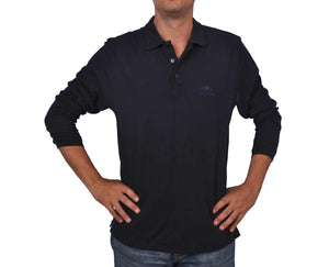 "Ανδρική Μπλούζα Polo ""Pick"" Fruit Of The Loom-DARKBLUE-M-kmaroussis.gr"