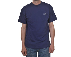 "Ανδρική Μπλούζα T-Shirt ""Be"" Fruit Of The Loom-DARKBLUE-L-kmaroussis.gr"