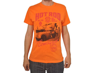 "Ανδρική Μπλούζα T-Shirt ""Bombshell Rocks"" BMF-ORANGE-S-kmaroussis.gr"