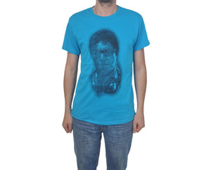 "Ανδρική Μπλούζα T-Shirt ""Scarface"" BMF-BLUE-XL-kmaroussis.gr"