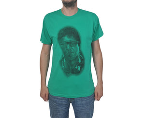 "Ανδρική Μπλούζα T-Shirt ""Scarface"" BMF-GREEN-XL-kmaroussis.gr"