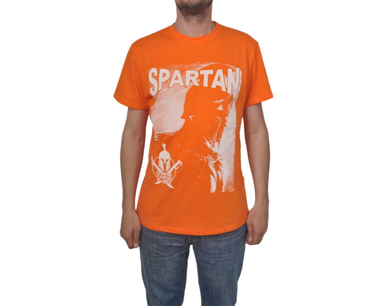 "Ανδρική Μπλούζα T-Shirt ""Spartan Alliance"" BMF-ORANGE-L-kmaroussis.gr"