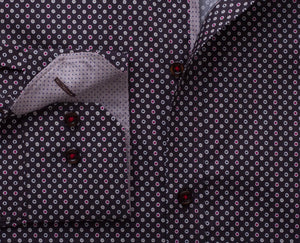 "Ανδρικό Πουκάμισο ""Colored Dots"" Slim Fit-kmaroussis.gr"