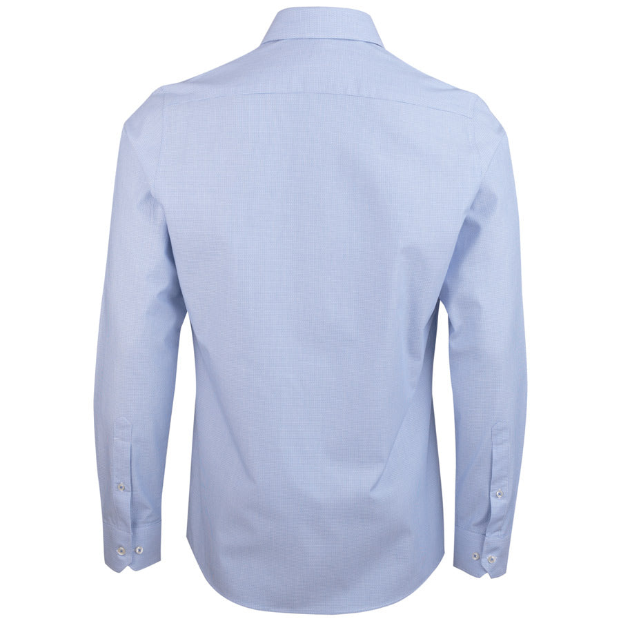 "Ανδρικό Πουκάμισο ""Sureal"" Slim Fit Redmond-LIGHTBLUE-S-kmaroussis.gr"
