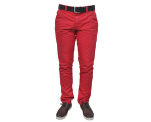 "Ανδρικό Παντελόνι Chino ""Vacation"" Battery-RED-30-kmaroussis.gr"