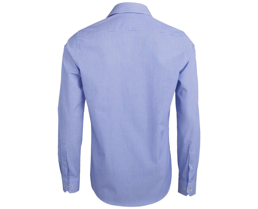 "Ανδρικό Πουκάμισο ""Medjob"" Slim Fit Redmond-BLUE-XL-kmaroussis.gr"