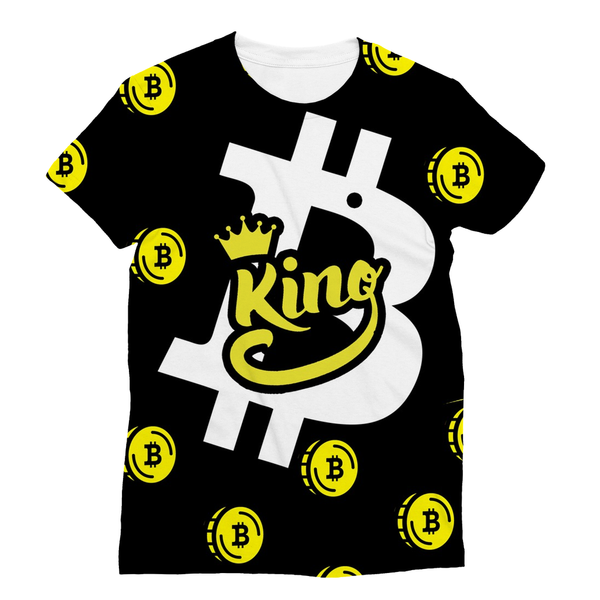 EXCLUSIVE: BTC King 3D T-Shirt