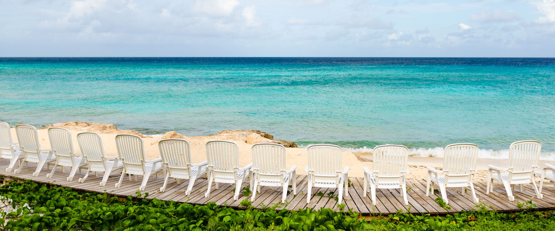Chairs on a Tropical Beach LookLagoon Lifestyle