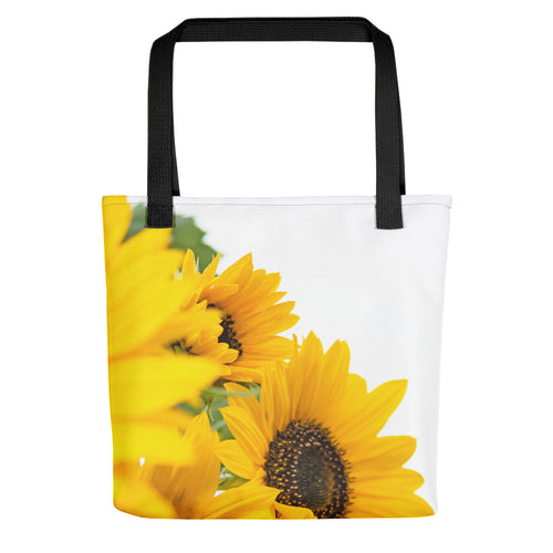 Sunflowers Blooming Tote bag