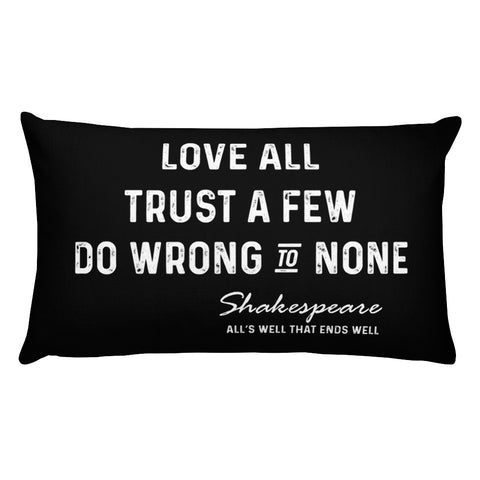 """Juliet is the Sun"" Shakespeare Rectangular Pillow"