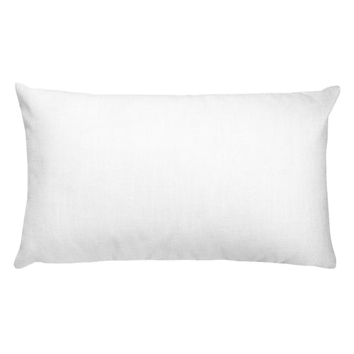 """Home Sweet Home"" Cobwebs B&W Rectangular Pillow"
