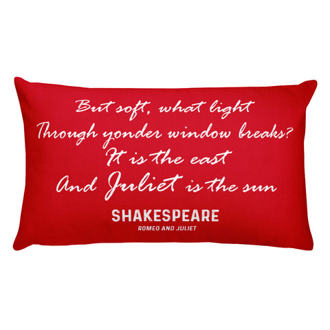 Fool or Wise Man - Shakespeare Rectangular Pillow
