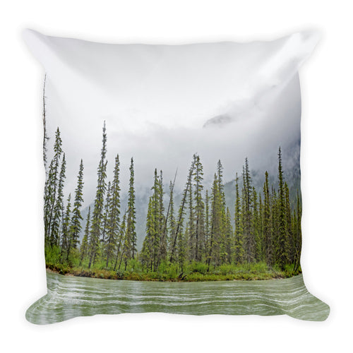 Imagine - Mountain Valley Square Pillow