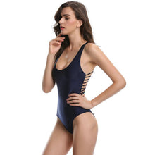 Vesper - Classic One-Piece With Low-Cut, Stringed Back