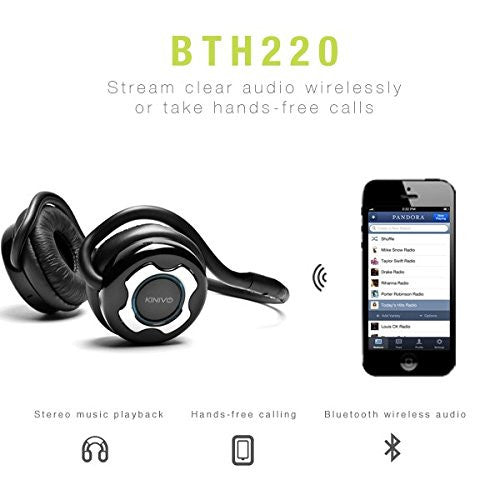 BTH220 Bluetooth Stereo Headphones
