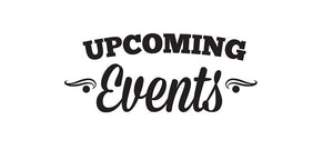 June & July 2017 Pop Up Events