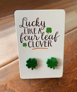 Lucky Like a Clover Earrings