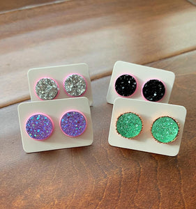 Spring Fling Druzy Earrings