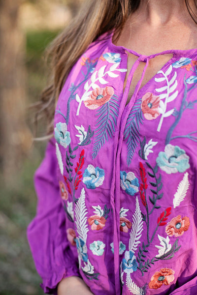 Orchid Lily Dreams Blouse
