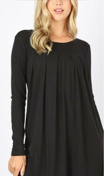 The Perfect Staple Black Long Sleeve Blouse