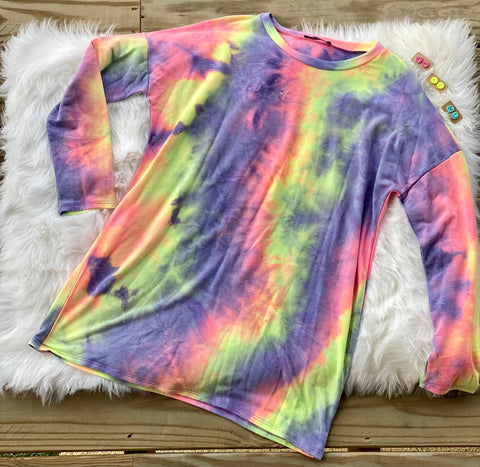 All The Colors Tie Dye Tunic