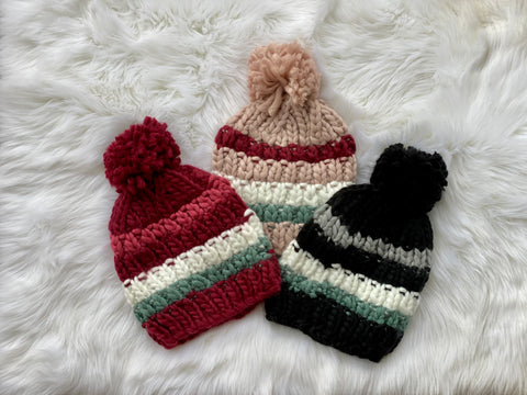 Warmth In Style Knit Pom Beanie