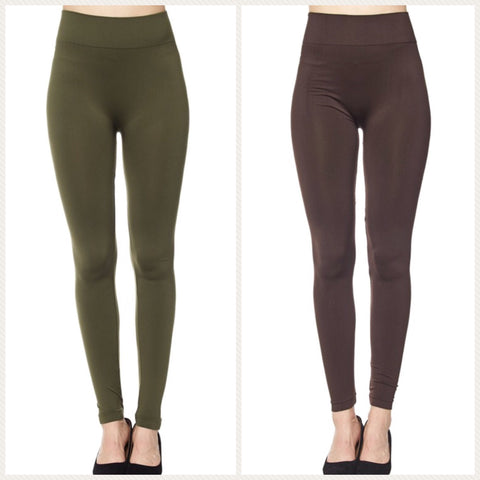 Comfort Fit Nylon Leggings