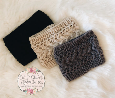 Glamorous Wide Knit Headband *Multiple Colors*