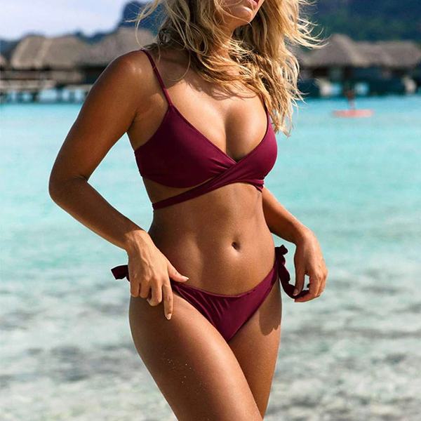 Gretchen Crossed Bikini